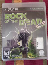 Rock of the Dead PS3 (Sony PlayStation 3) New Factory Sealed