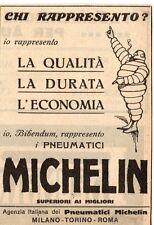 Pubblicità vintage Michelin semelles gomme auto pneumatici old advert reklame A5
