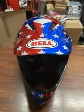 ! Bell Sanction Nitro Circus Gloss Silver/Blue/Red Bicycle Helmet Large