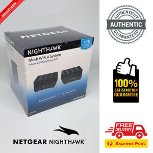 Netgear Nighthawk MK62 WiFi 6 Mesh System (BRAND NEW IN BOX, AUTHENTIC)