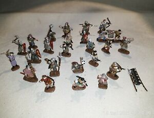 1/72 PAINTED SOLDIERS : NORMANDS (24 figs )