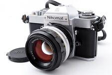 EXC 5+ Nikon Nikomat EL 35mm SLR Film Camera with 50mm f/1.4 Lens From JAPAN