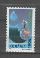 s36366 ROMANIA 2001 EUROPA CEPT MNH** 1v ACQUA