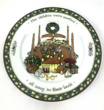 """Christmas Story PS """"The Children were Nestled"""" Susan Winget Salad Plate"""