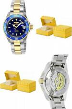 Invicta Men's Pro Diver 23k Gold Plated Steel Two-Tone Automatic Watch Luminous