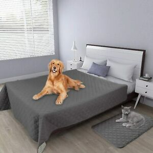 UK Dog Blanket for Couch Protection Waterproof Bed Covers Pet Blanket Protector