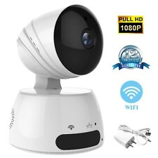 Home Wireless internet Security ip Camera System 1080P HD Nanny Cam with Pan...