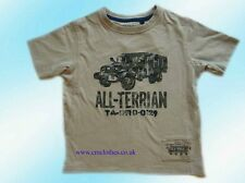 Boys' NEXT T-shirt Cotton Beige 6 Years New With Tags