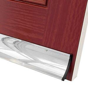 Stormguard Aluminium Rain Deflector Door Weather Strip Water Drip Bar 63mm