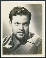 """1939 Orson Welles, """"War of the Worlds"""" Studio Photograph of Famed Actor/Director"""