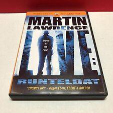 Martin Lawrence Live - Runteldat (DVD, 2003, Widescreen) w/Fast FREE Shipping!