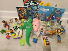McDonalds Burger King Happy Meal Kids Toy Disney Pixar Toy Story Finding Nemo