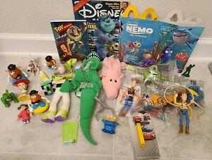 McDonalds Burger King Happy Meal Kids Toy Disney Pixar Toy Story Finding Nemo