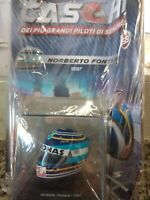 NORBERTO FONTANA 1997 ARAI HELMET CASCHI F 1 COLLECTION. #53 1:5 MIB SPARK
