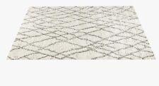 $1295 Ben Soleimani Restoration Hardware NOURA MOROCCAN HIGH-PILE WOOL RUG 5X7
