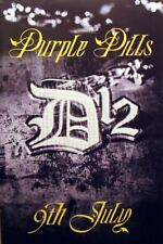 D12 EMINEM Purple Pills original UK rap promo POSTER rare new !!