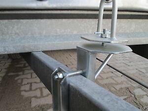 Reserveradhalterung für Hapert Anhänger Ersatzradhalterung Reserveradhalter