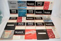Vintage Lot of 25 Various Brands Recorded 7 inch Reel To Reel Tapes Lot # 7