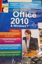 Learn To Use Microsoft Office 2010 & Windows 7