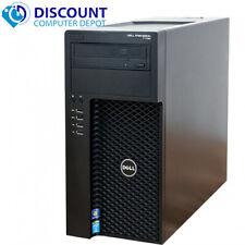 Dell T1700 Precision Computer PC 32GB 2TB HD 512GB SSD Quad Xeon Windows 10 Pro