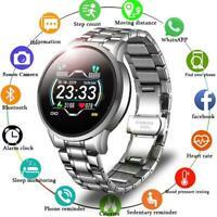 LIGE reloj inteligente hombre/mujer control del ritmo cardíaco y de la presión s