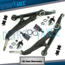 New 8pc Complete Front Lower Control Arm Suspension Kit for Honda Civic - No SI
