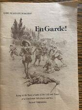 En Garde Swashbuckiling RPG Game Designers' Workshop Revised Edition 1977 ET-S