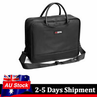 Universal Portable Projector Bag For 15'' Laptop Carrying Shoulder Bag Black AU