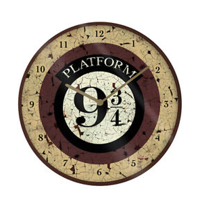 Harry Potter Platform 9 3/4 Wall Clock
