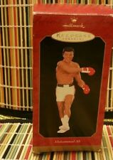 MUHAMMAD ALI HALLMARK KEEPSAKE ORNAMENT HANDCRAFTED 1999 BOXER SPORTS