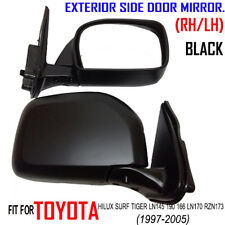 97-2005 TOYOTA HILUX SURF TIGER LN145 190 166 LN170 RZN173 BLACK DOOR MIRROR L R