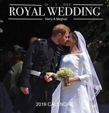 Royal Wedding Harry & Meghan 2019 Wall Calendar 30 x 30cm by Paper Pocket