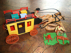 !!! ORIGINAL TIMPO TOYS - COACH AND COW-BRANDER N EXCELLENT CONDITIION !!!