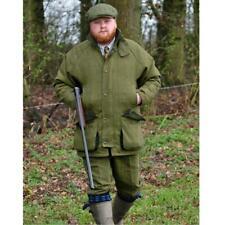 Para Hombre Derby Tweed Caza Juego Oscuro Chaqueta de Abrigo de disparo-Bute