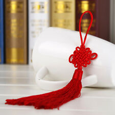 10Pcs Red Hand-knit Chinese knot Gift Celebration Supplies Car Pendant