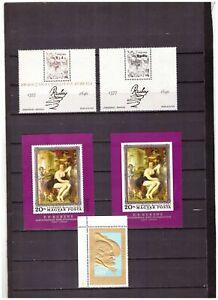 s16236) RUBENS PAINTINGS QUADRI MNH** 1977 Hungary... 3v +2S/S (1 gold 1 IMPERF)