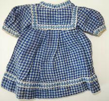 Jolie petite robe ancienne pour Bleuette