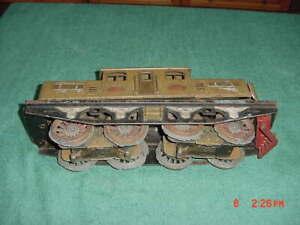 Standard Gauge Vintage Lionel #402E Tinplate Pre-War Dual Motor Electric Loco