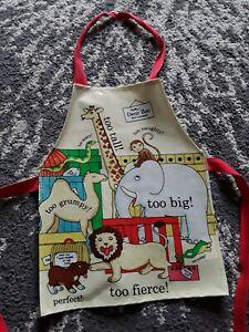 Childrens Apron Dear Zoo Waterproof Wipe Clean Painting Cooking smock