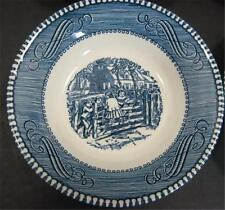 """Royal China Currier Ives The Old Farm Gate Berry 5 3/4"""" Dessert Bowl Children On"""