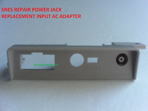 NEW SUPER NINTENDO SNES REPAIR POWER JACK REPLACEMENT FiX INPUT AC ADAPTER PORT