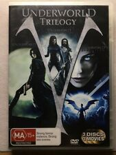 Underworld Trilogy (DVD, 2009, 3 discs) Evolution / Rise of the Lycans - R4