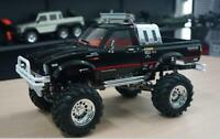 US Stock HG 1/10 4WD RC Car Series Racing Crawler Metal 4X4 Pickup RTR Black