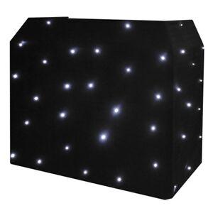 Equinox DJ Booth LED Starcloth DJ Disco Party Lighting Effect Light Cloth