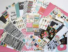 New!  SIMPLE STORIES  [CARPE DIEM]  12 x 12 Paper & Embellishments  -  Save 60%