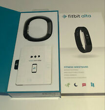 Fitbit Alta HR Black/Stainless Steel Activity Tracker-small