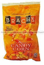 BRACH'S 4.2oz Bag CLASSIC Real Honey CANDY CORN Candies HALLOWEEN/FALL Exp.6/18+