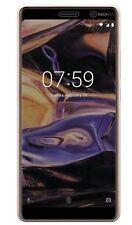 Nokia 7 Plus - antireflex Displayschutzfolie - Anti-Shock Schutz Folie