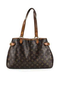 Louis Vuitton Canvas Batignolles Horizontal Tote Handbag