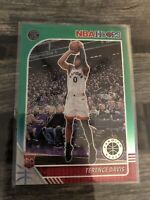 TERENCE DAVIS 2019-20 Hoops Premium Stock Prizms Green #257 RC Rookie Raptors